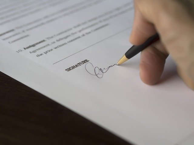 contract-official-paperwork