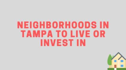 tampa florida neighborhoods